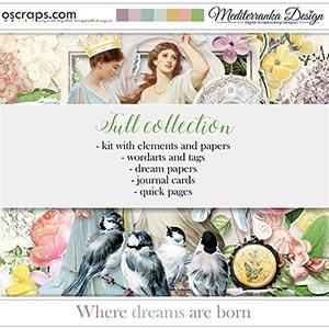 Where dreams are born (Full collection 5 in 1)