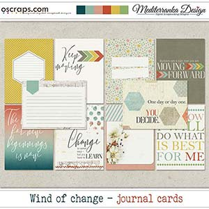 Wind of change (Journal cards)