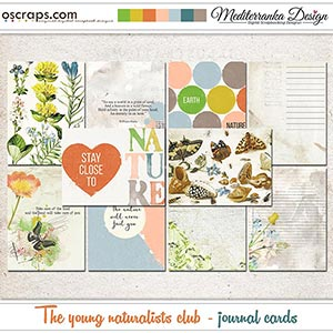 The young naturalists club (Journal cards)