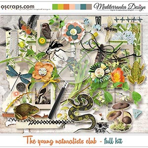 The young naturalists club (Full kit)