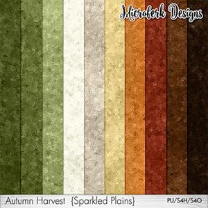 Autumn Harvest Sparkled Plains