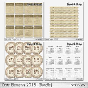 Date Elements Bundle 2018
