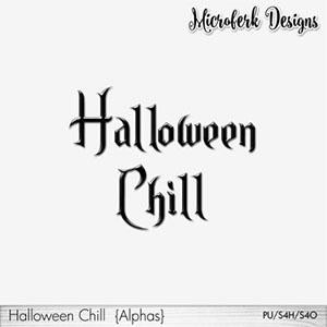 Halloween Chill Alphas