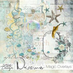 Seashore Dreams {Magic Overlays}