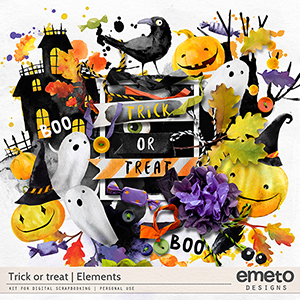 Trick or treat - elements