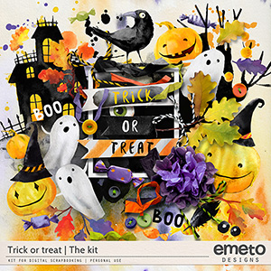 Trick or treat - The kit