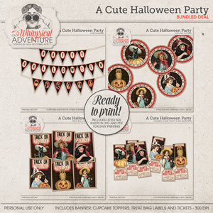 A Cute Halloween Party Pack