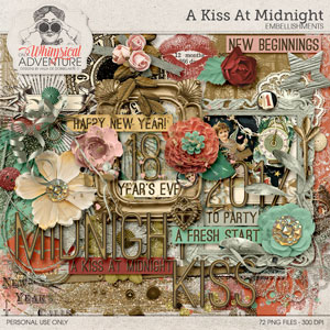A Kiss At Midnight Embellishments