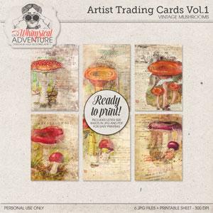 Artist Trading Cards Vol1