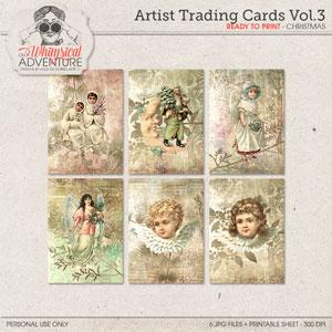 Artist Trading Cards Vol3