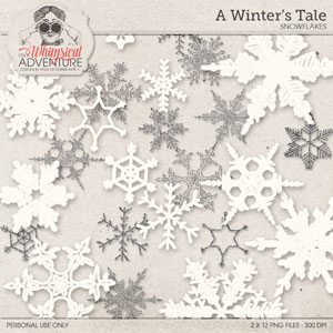 A Winter's Tale Snowflakes