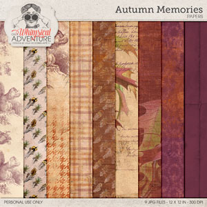 Autumn Memories Papers