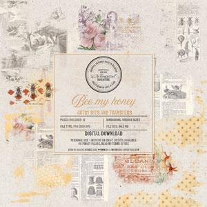 Bee My Honey Artsy Bits And Transfers