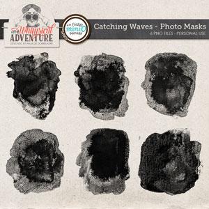 Catching Waves Photo Masks Mini O
