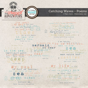 Catching Waves Poems Mini O