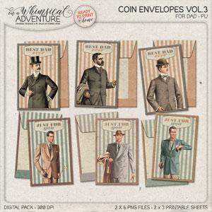 Coin Envelopes Vol3