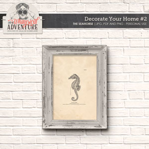 Decorate Your Home 2 The Seahorse