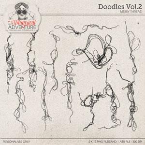 Doodles Vol02 Messy Thread 1