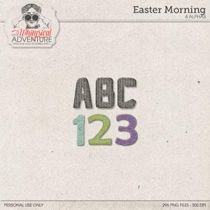 Easter Morning Alpha