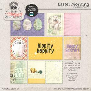 Easter Morning Journal Cards