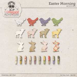Easter Morning Wood Bits