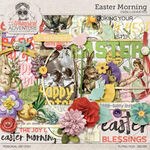 Easter Morning Embellishments