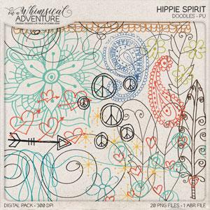 Hippie Spirit Doodles