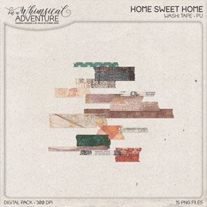 Home Sweet Home Washi Tape