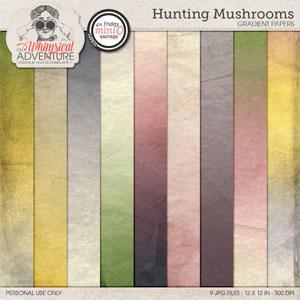 Hunting Mushrooms Gradients Mini O