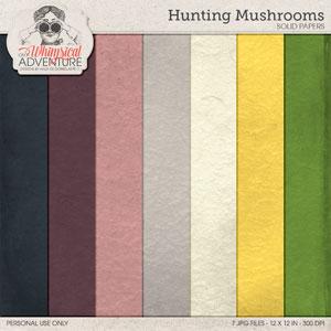 Hunting Mushrooms Solids Mini O