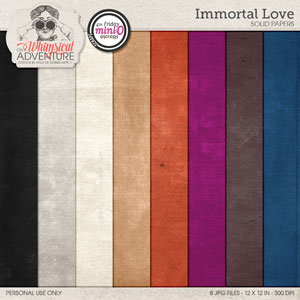 Immortal Love Solid Papers