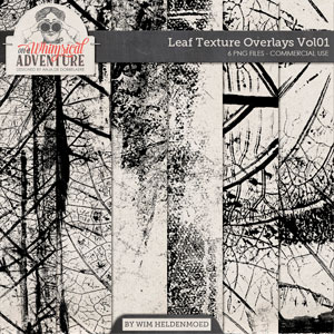 CU Leaf Texture Overlays Vol01