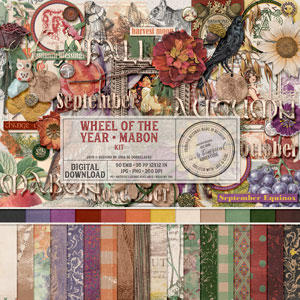 Wheel Of The Year Mabon Kit