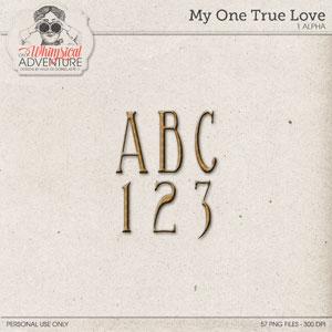 My One True Love Alpha