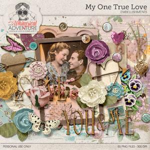 My One True Love Embellishments