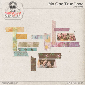 My One True Love Washi Tape
