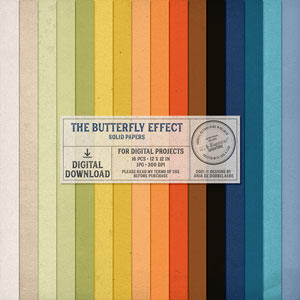 The Butterfly Effect Solid Papers