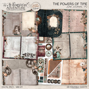 The Powers Of Time Junk Journal