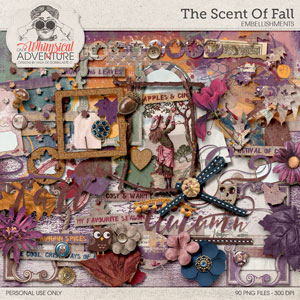The Scent Of Fall Embellishments