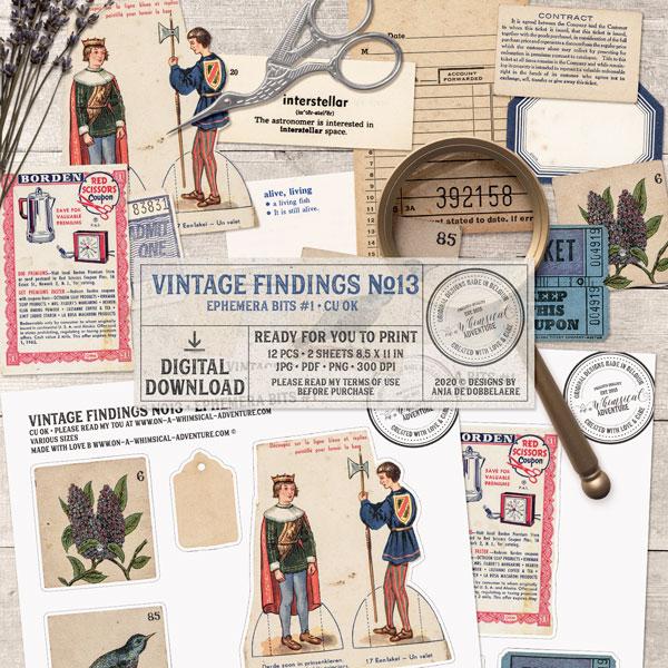 CU Vintage Findings No13