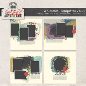Whimsical Templates Vol01