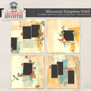 Whimsical Templates Vol03