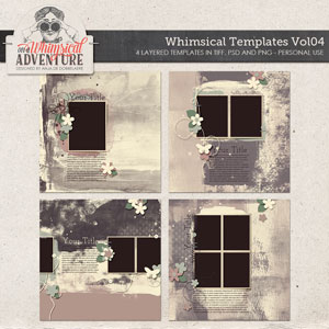 Whimsical Templates Vol04