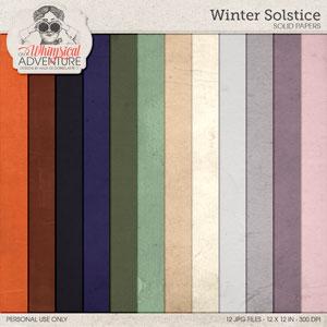 Winter Solstice Solids