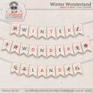 Winter Wonderland Banner