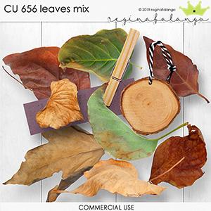 CU 656 LEAVES MIX