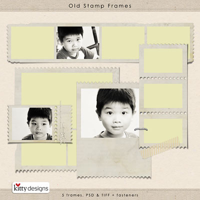 Old Stamp Frames