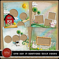 One Day in Barnyard Quick Pages