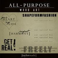 All-Purpose Word Art (FREEBIE!!!!)