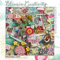 Bloomin' Creativity - An Oscraps 2014 Collaboration